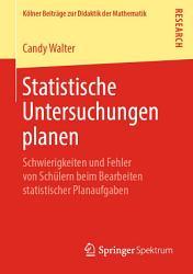 Statistische Untersuchungen planen PDF