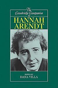 The Cambridge Companion to Hannah Arendt Book