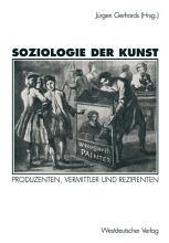 Soziologie der Kunst PDF