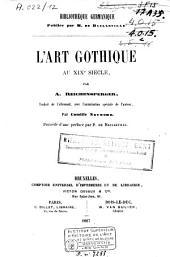 L'art gothique au XIXe siècle