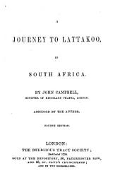A Journey to Lattakoo, in South Africa