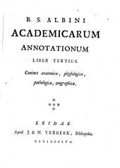 B. S.Albini Academicarum annotationum ; Liber tertius