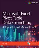 Microsoft Excel 365 Pivot Table Data Crunching PDF