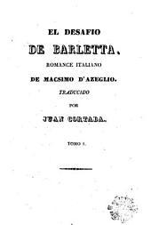 El Desafio de Barletta: romance italiano