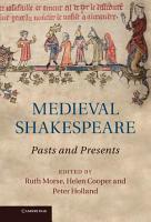 Medieval Shakespeare PDF
