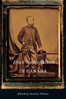 Irish Nationalism in Canada PDF