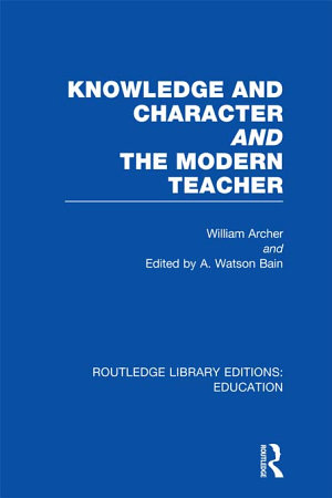 Knowledge and Character bound with The Modern Teacher RLE Edu K