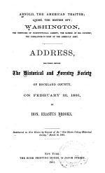 Arnold, the American Traitor