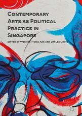 Contemporary Arts as Political Practice in Singapore PDF