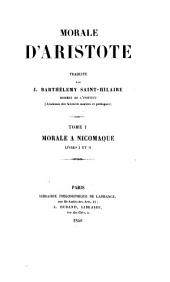 Ethique ou Morale: Volume1