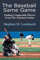 The Baseball Same Game PDF