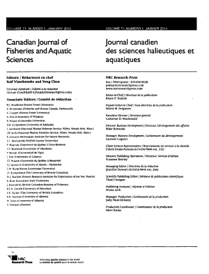 Canadian Journal of Fisheries and Aquatic Sciences PDF