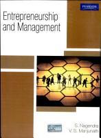 Entrepreneurship   Management PDF