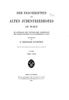Quellen und Forschungen zur Geschichte der Juden in Deutsch   sterreich PDF