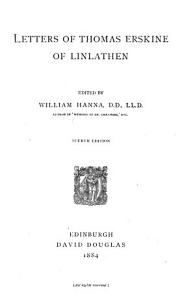 Letters of Thomas Erskine of Linlathen PDF
