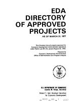 EDA Directory of Approved Projects PDF