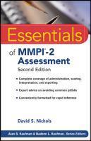 Essentials of MMPI 2 Assessment PDF