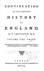 Continuation of the Complete History of England, [1748-60]: Volume 3