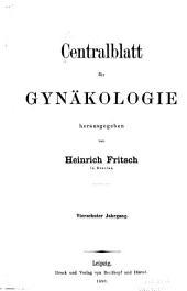 Centralblatt für gynäkologie: Band 14