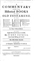 A Commentary Upon the Historical Books of the Old Testament     PDF