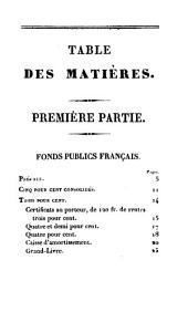 Des fonds publics français et étrangers, et des opérations de la Bourse de Paris ...
