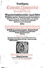 Danksagung wegen der Epistel, in welcher Jacob Andre Schmidel ihm seine Fronleichnamspredigt dedicirt