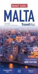 Insight Travel Map - Malta