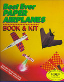 Best Ever Paper Airplanes Book and Kit
