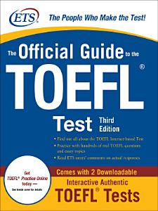 The Official Guide to the TOEFL iBT  Third Edition PDF