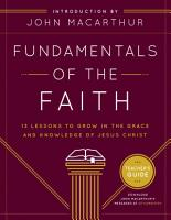 Fundamentals of the Faith Teacher s Guide PDF