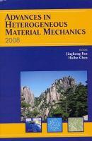 Advances in Heterogeneous Material Mechanics 2008 PDF