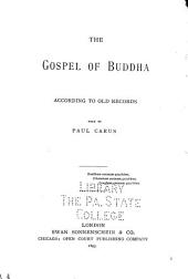 The Gospel of Buddha According to Old Records