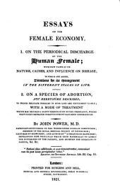Essays on the Female Economy