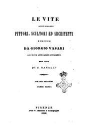Le vite de' più eccellenti pittori, scultori ed architetti scritte da Giorgio Vasari: 2.3.1. 2.3