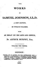 The works of Samuel Johnson: Volume 9