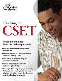Cracking the CSET Book