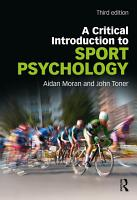 A Critical Introduction to Sport Psychology PDF