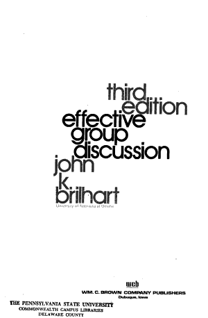 Effective Group Discussion PDF