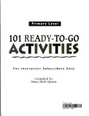 101 Ready-to-go Activities