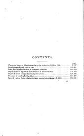 Bulletin of the Bureau of Labor: Volume 11, Issues 59-61