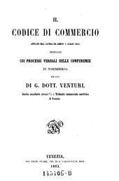 Il codice di commercio attivato nell'Austria. l luglio 1863, spiegato coi processi verbali delle conferenze di Norimberga