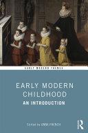 Early Modern Childhood