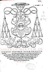Missale mixtum secundum ordinem almae primatis ecclesiae Toletanae ... duplici videlicet tabula ...: cui accesit Ordo celebrandi missam ...