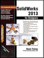 SolidWorks 2013 for Designers PDF