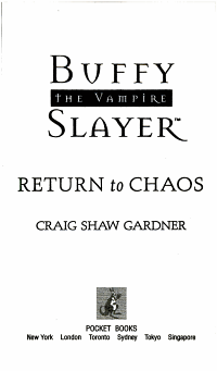Return to Chaos