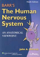 Barr s the Human Nervous System PDF