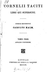 Libri qui supersunt: Volume 1