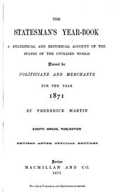 The Statesman's Year-book: Volume 8
