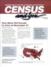 Census and You: Monthly News from the U.S. Bureau of the Census, Volume 31, Issue 5