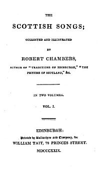 The Scottish Songs  Collected and Illustrated PDF